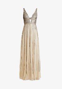 Lace & Beads - MYLA MAXI - Occasion wear - beige - 3