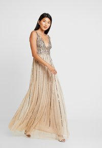 Lace & Beads - MYLA MAXI - Occasion wear - beige - 1