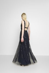 Lace & Beads - MYLA MAXI - Robe de cocktail - navy - 2