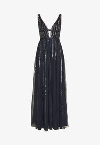Lace & Beads - MYLA MAXI - Robe de cocktail - navy - 4