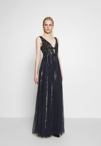 Lace & Beads - MYLA MAXI - Robe de cocktail - navy - 0