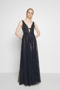 Lace & Beads - MYLA MAXI - Robe de cocktail - navy - 1