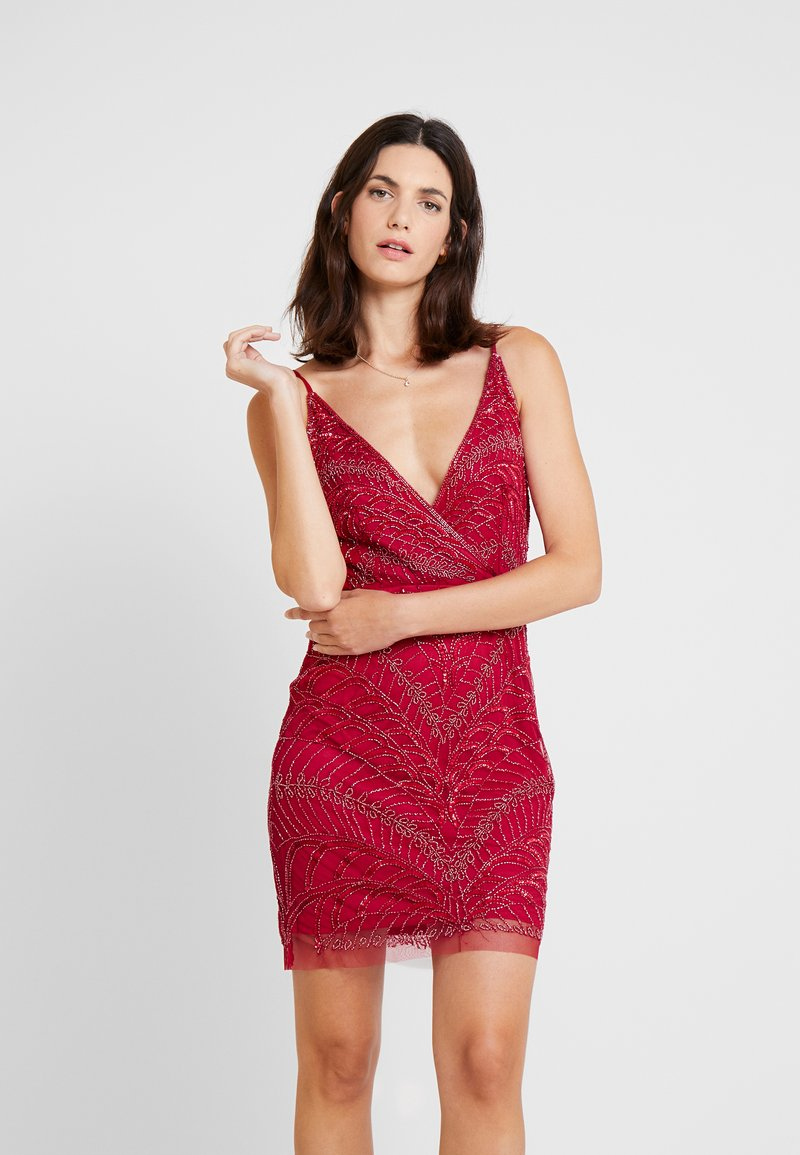 Lace & Beads - MAY DRESS - Cocktailkjole - red