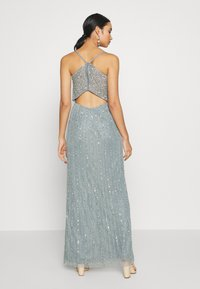 Lace & Beads - MUNA MAXI - Iltapuku - light teal - 2