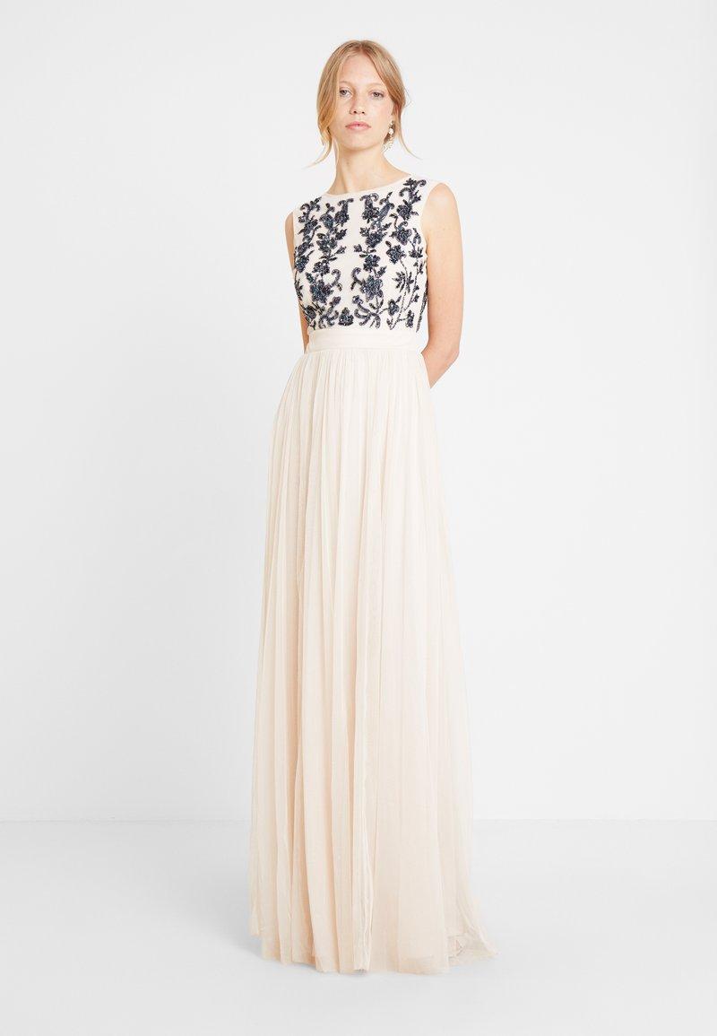 Lace & Beads - RONDA MAXI - Occasion wear - cream