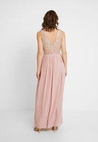 Lace & Beads - AMADINA MAXI - Festklänning - nude - 3