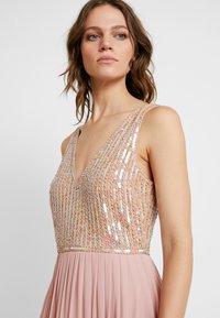 Lace & Beads - AMADINA MAXI - Festklänning - nude - 5