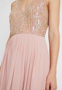 Lace & Beads - AMADINA MAXI - Festklänning - nude - 7