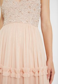 Lace & Beads - ARIA MAXI - Suknia balowa - blush - 7