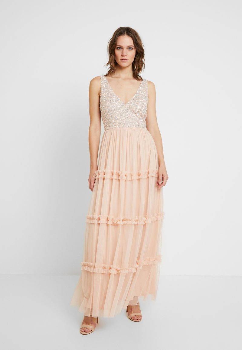 Lace & Beads - ARIA MAXI - Robe de cocktail - blush