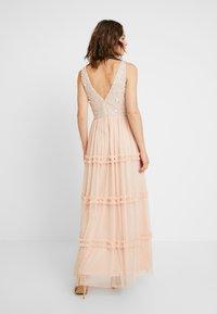 Lace & Beads - ARIA MAXI - Suknia balowa - blush - 3