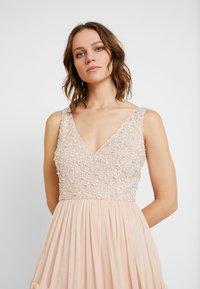 Lace & Beads - ARIA MAXI - Suknia balowa - blush - 5