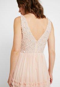 Lace & Beads - ARIA MAXI - Suknia balowa - blush - 4