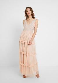 Lace & Beads - ARIA MAXI - Suknia balowa - blush - 2