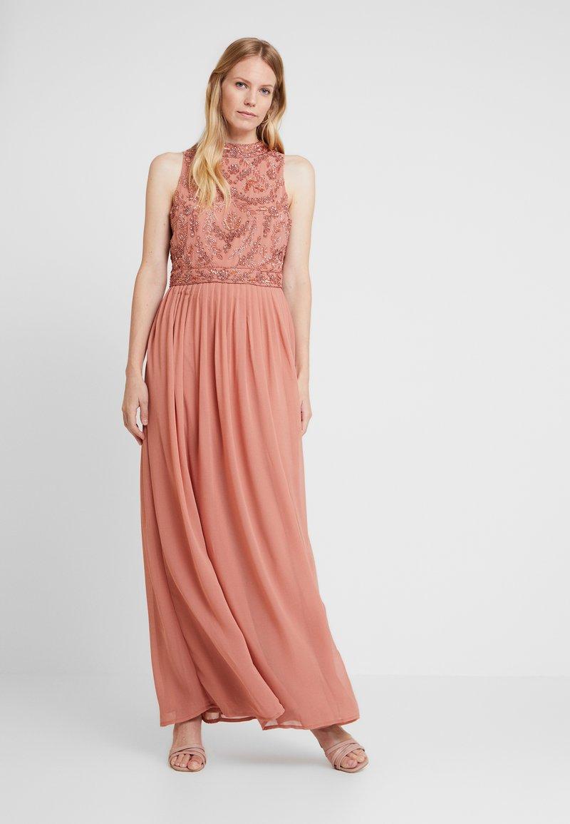 Lace & Beads - CHANDINI MAXI - Ballkjole - dusty pink