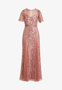 Lace & Beads - MEGHAN MAXI - Ballkjole - dusty pink - 5
