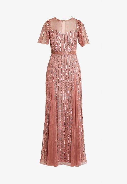 Lace & Beads MEGHAN MAXI - Suknia balowa - dusty pink Odzież Damska Sukienki LSKK-HZ3 najlepszy