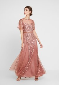 Lace & Beads - MEGHAN MAXI - Ballkjole - dusty pink - 0