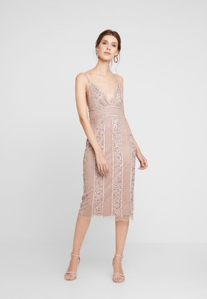 MIRABELLA DRESS - Cocktailjurk - nude