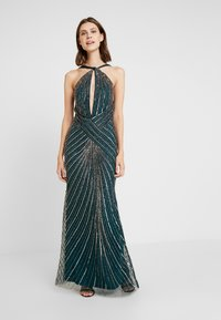 Lace & Beads - LUCILLE MAXI - Abito da sera - green - 1