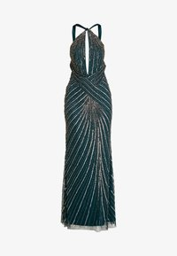 Lace & Beads - LUCILLE MAXI - Abito da sera - green - 5