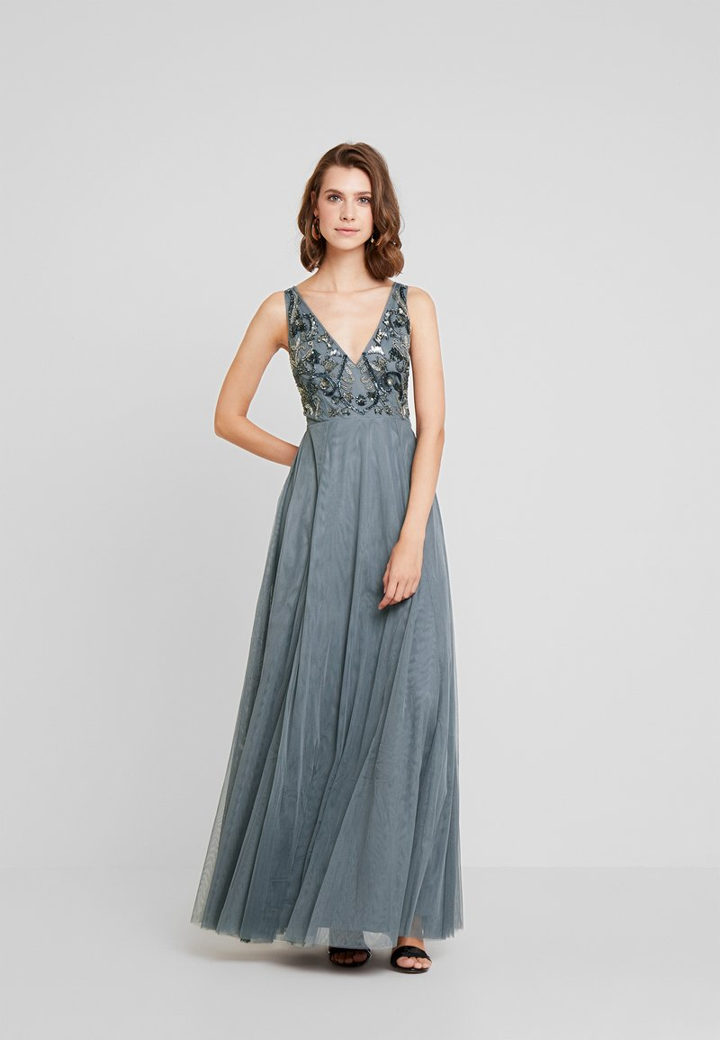 Lace & Beads - ROWENA - Ballkleid - grey