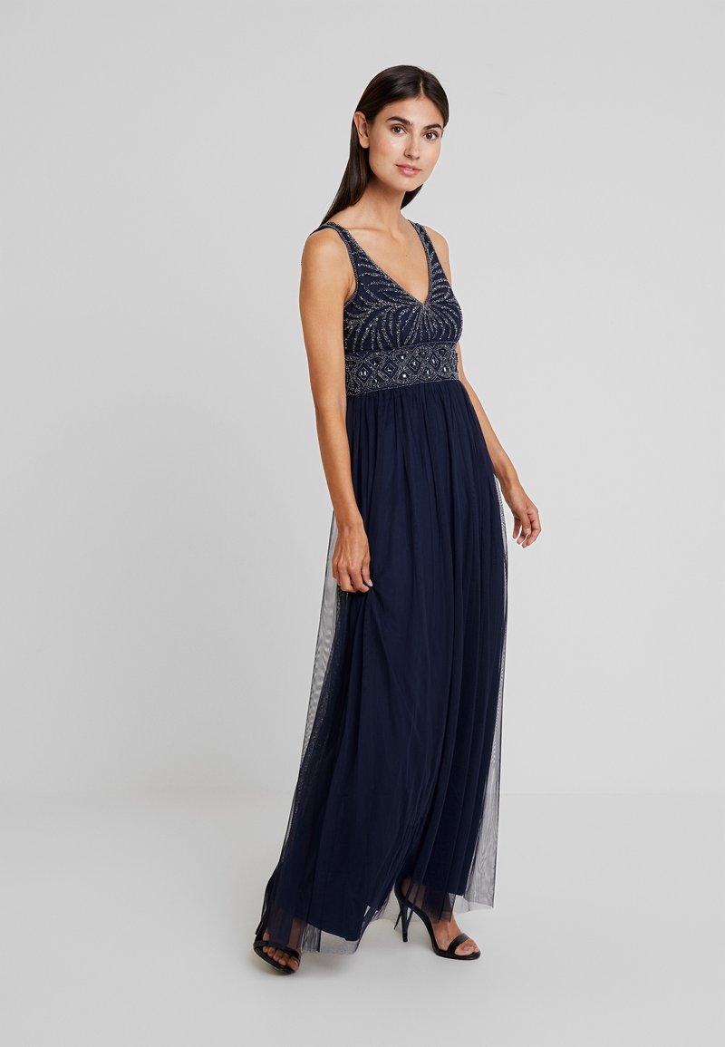 Lace & Beads - MUMULAN - Ballkleid - navy