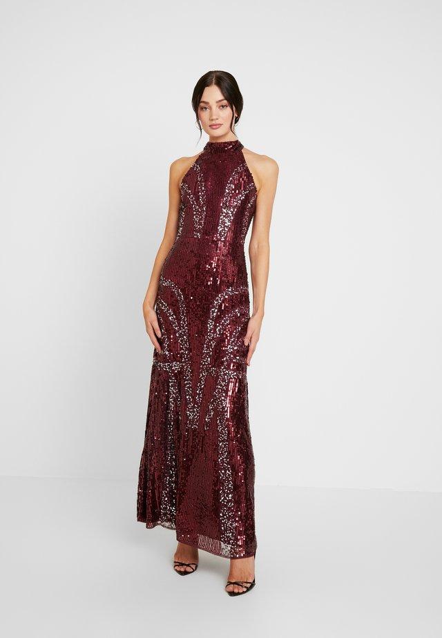 CYNTHIA - Ballkleid - burgundy