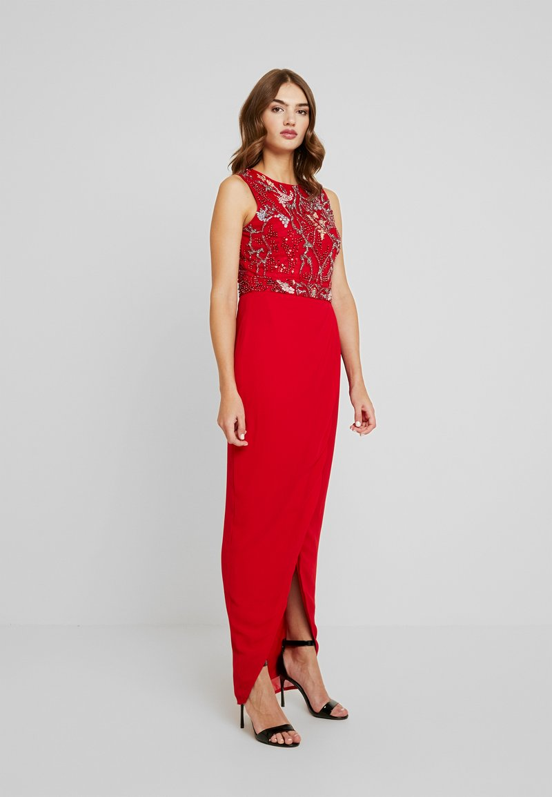 Lace & Beads - DELUCE MAXI - Occasion wear - red