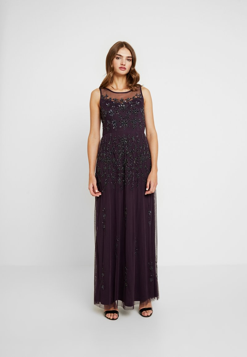 Lace & Beads - MARGARITA MAXI - Occasion wear - purple