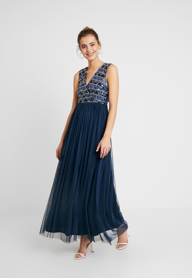 CECILIA MAXI - Occasion wear - navy