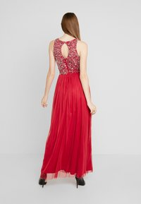 Lace & Beads - BEATRICE - Iltapuku - fiery red - 3