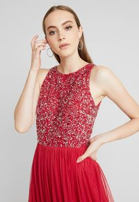 Lace & Beads - BEATRICE - Iltapuku - fiery red - 4