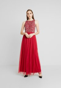 Lace & Beads - BEATRICE - Iltapuku - fiery red - 2