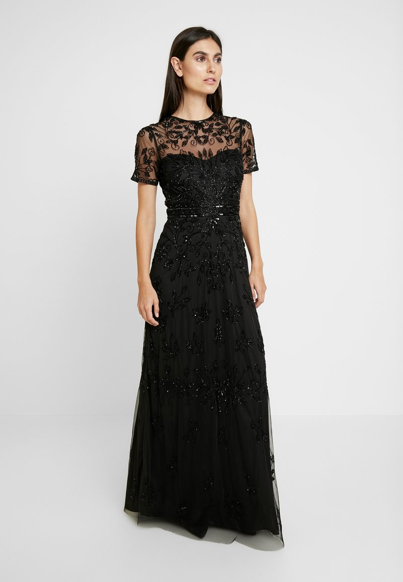 Lace & Beads - LAURA MAXI - Occasion wear - black