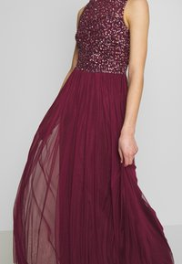 Lace & Beads - KAHLO MAXI - Galajurk - burgundy - 5