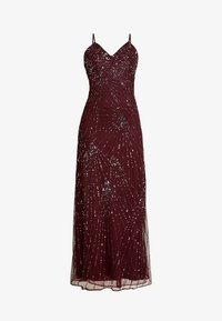 Lace & Beads - RALEIGH STRAPPY MAXI - Iltapuku - burgundy - 6