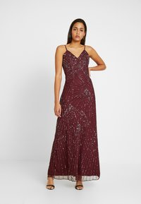 Lace & Beads - RALEIGH STRAPPY MAXI - Iltapuku - burgundy - 0