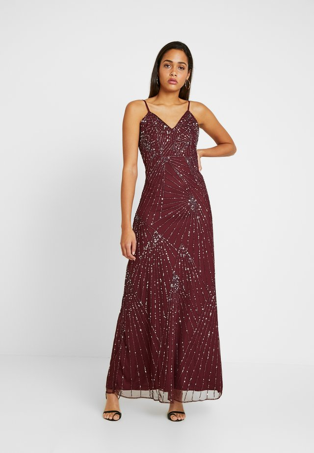 RALEIGH STRAPPY MAXI - Robe de cocktail - burgundy