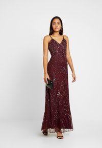Lace & Beads - RALEIGH STRAPPY MAXI - Iltapuku - burgundy - 2