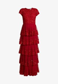 Lace & Beads - MULAN LISHKY CAP SLEEVE MAXI - Iltapuku - red - 7