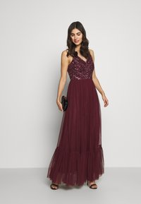Lace & Beads - BROOKLYN MAXI - Vestido de fiesta - burgundy - 1