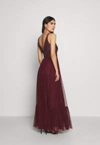 Lace & Beads - BROOKLYN MAXI - Vestido de fiesta - burgundy - 2