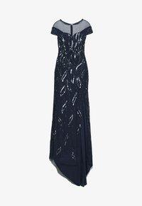 Lace & Beads - MALIA MAXI - Společenské šaty - navy - 3