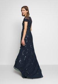 Lace & Beads - MALIA MAXI - Společenské šaty - navy - 2