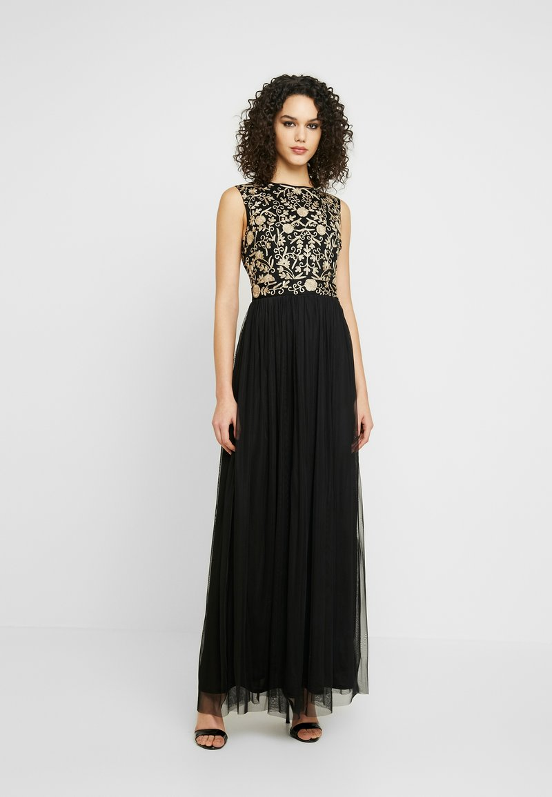 Lace & Beads - ANDORA MAXI - Vestido de fiesta - black
