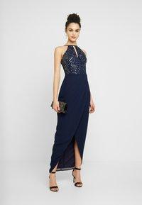 Lace & Beads - BASIA MAXI - Ballkjole - blue - 2