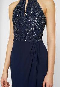Lace & Beads - BASIA MAXI - Ballkjole - blue - 7