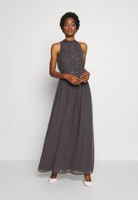 Lace & Beads - CLARIBEL - Vestido de fiesta - charcoal - 1