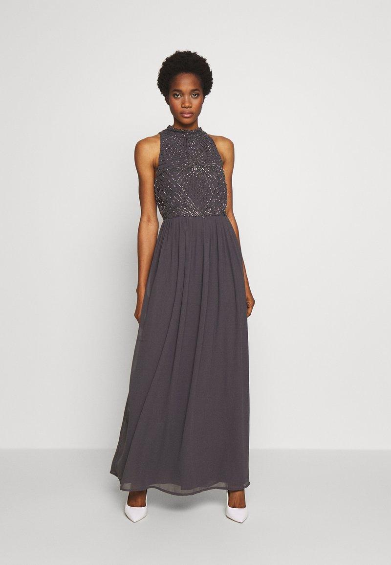 Lace & Beads - CLARIBEL - Vestido de fiesta - charcoal